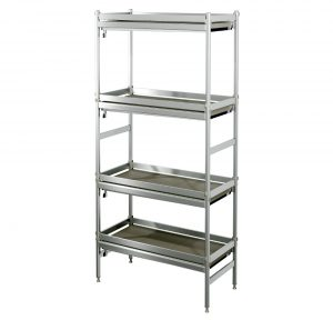 wine shelving Liquid-collecting Aluminum Shelves