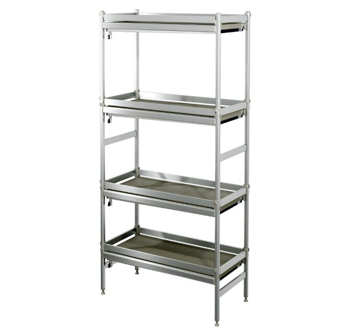 wine shelving Liquid-collecting Aluminum Shelves
