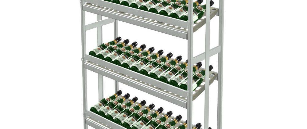 scaffalature metalliche per vino Italmodular