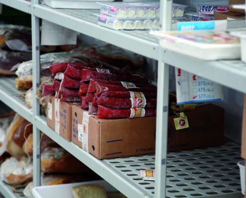 italmodular modular shelving Food storage shelves and Kitchen storage shelves