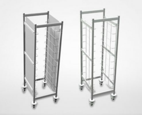 Shelving | Trolleys - Restaurant shelving and commercial shelves
