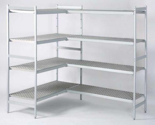 Modular Shelving - Adjustable metal shelving