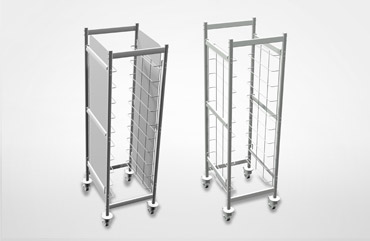 Smarty Eco Trolley rolling shelves