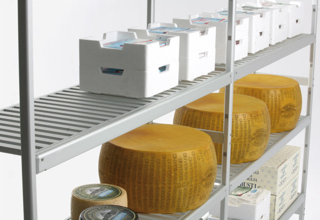 Modular Shelving: Food storage shelves