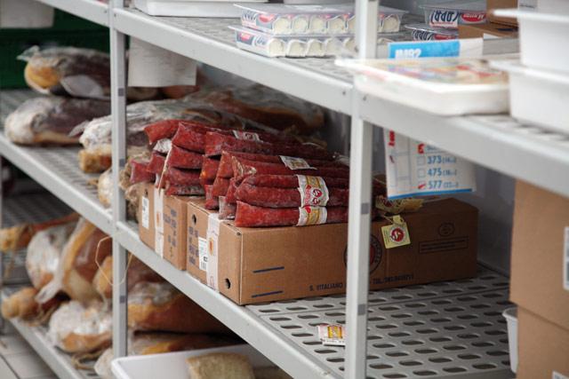 Scaffalature modulari: stoccaggio di alimenti