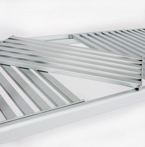 Modular Aluminum Shelves