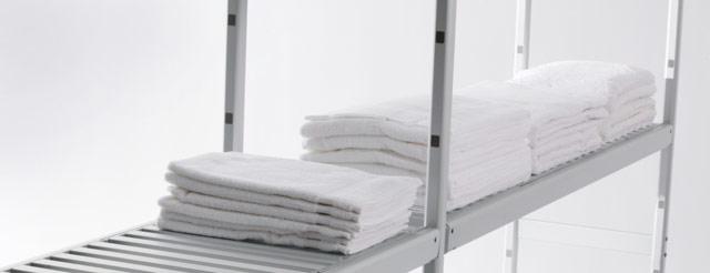 Modular Shelving: Adjustable shelving units