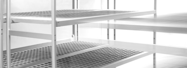 Overhead sliding shelving and Adjustable shelving units