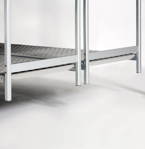Overhead sliding shelving and Aluminum Shelves