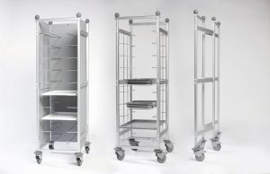 Italmodular Smarty Trolley - rolling shelves and catering racks