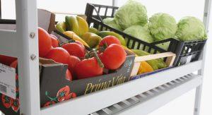 wine shelving Trolleys: Kitchen storage shelves and rolling shelves