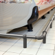 New Protect Line IM97 shopping cart bumper rail