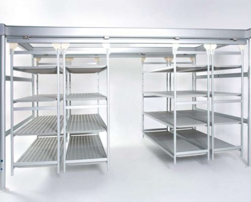metal shelves italmodular