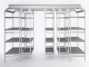 metal shelves easy compact
