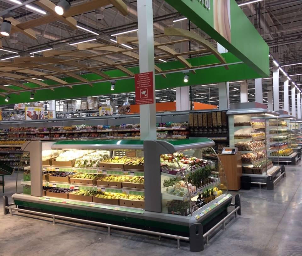 Cornerbump for supermarkets