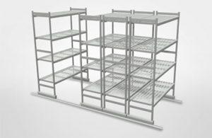 estanterías industriales en metal
