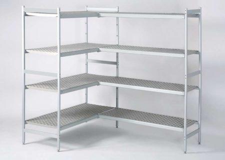 palos antigolpes estanterías modulares