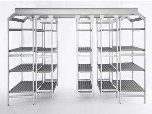 estanterías industriales acero easy compact