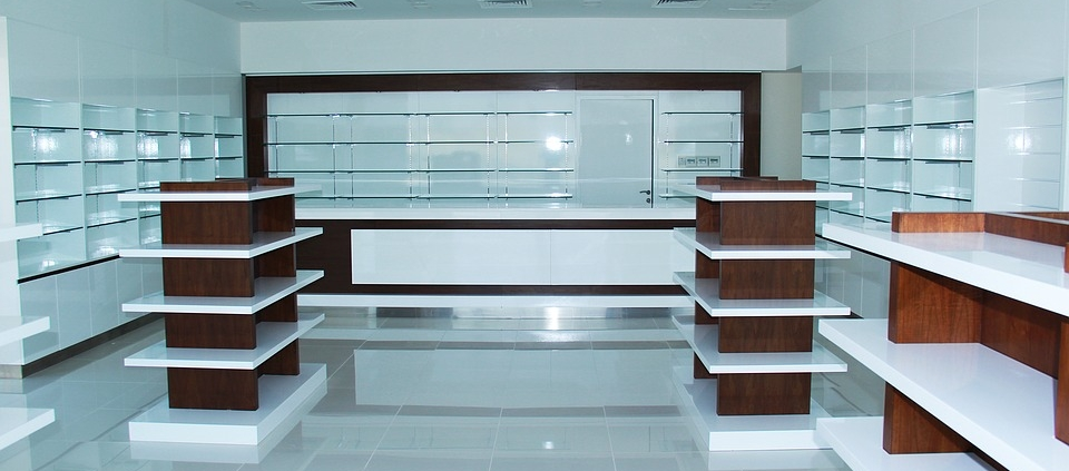shelving for pharmacies
