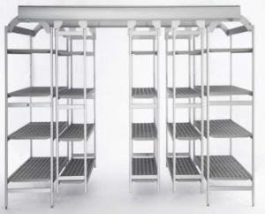 Italmodular scaffali componibili in acciaio easy compact