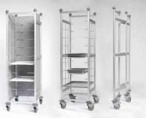 Italmodular carrello Smarty- scaffali componibili in acciaio