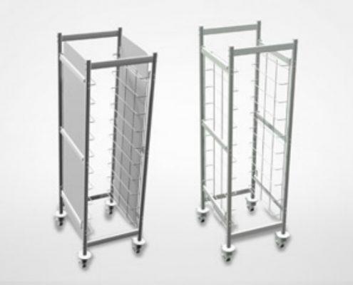 Shelving | Trolleys - Restaurant shelving and commercial shelves