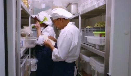 Italmodular Kitchen storage shelves on Real Time Tv