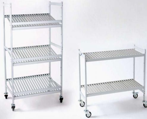 rolling shelves italmodular