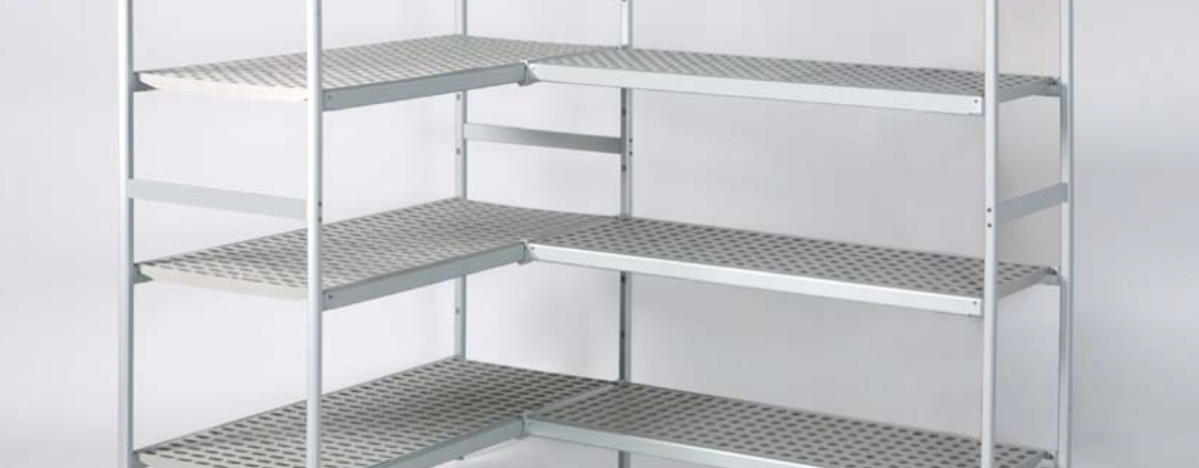cooler shelves by Italmodular