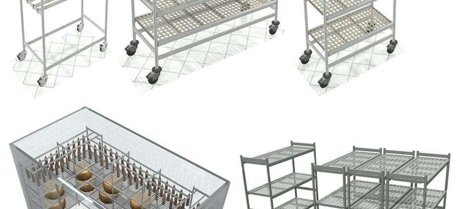 scaffalature in alluminio italmodular