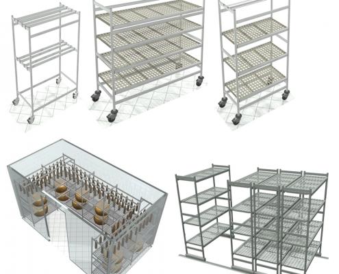 italmodular aluminium shelving