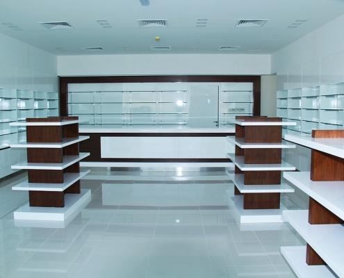shelving for pharmacies