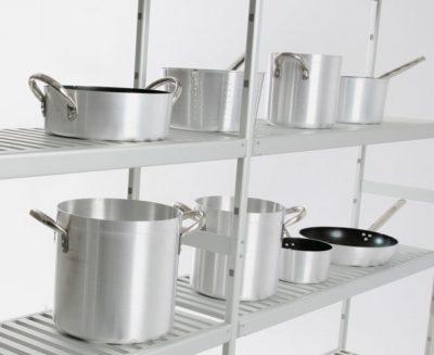 Scaffali componibili in acciaio e alluminio Italmodular